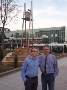 Návštěva Institutu veřejného mínění, Makedonie 2011