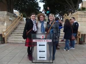 Členky katedry navštívily University of Malta