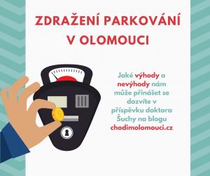 Zdražení parkovného v Olomouci