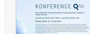 Konference QAK : pozvánka