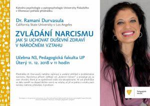 Zvládání narcismu - přednáška dr. Ramani Durvasula